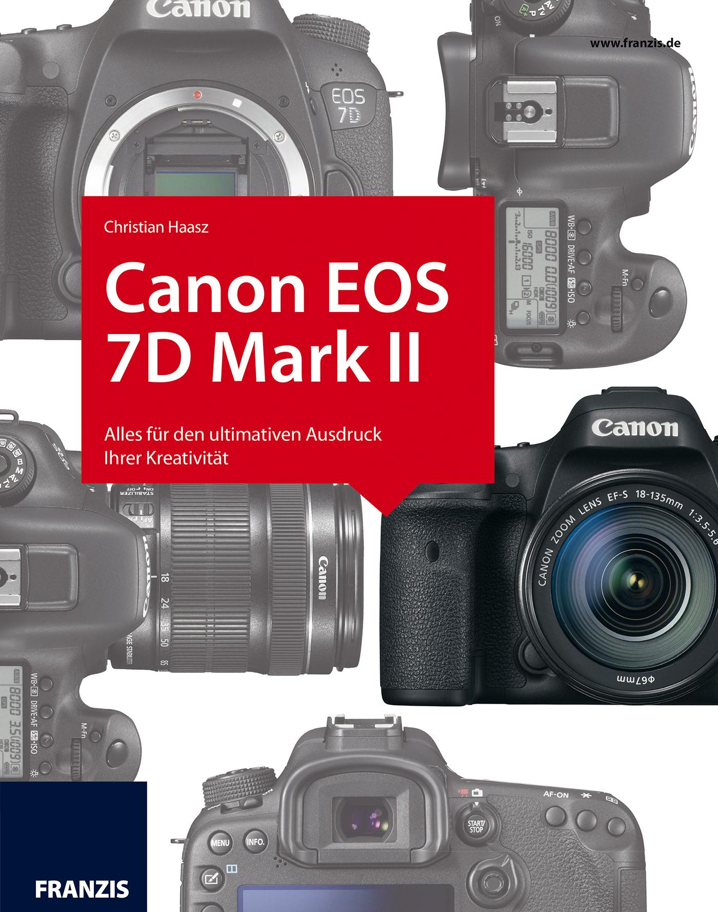 лучшая цена Christian Haasz Kamerabuch Canon EOS 7D Mark II