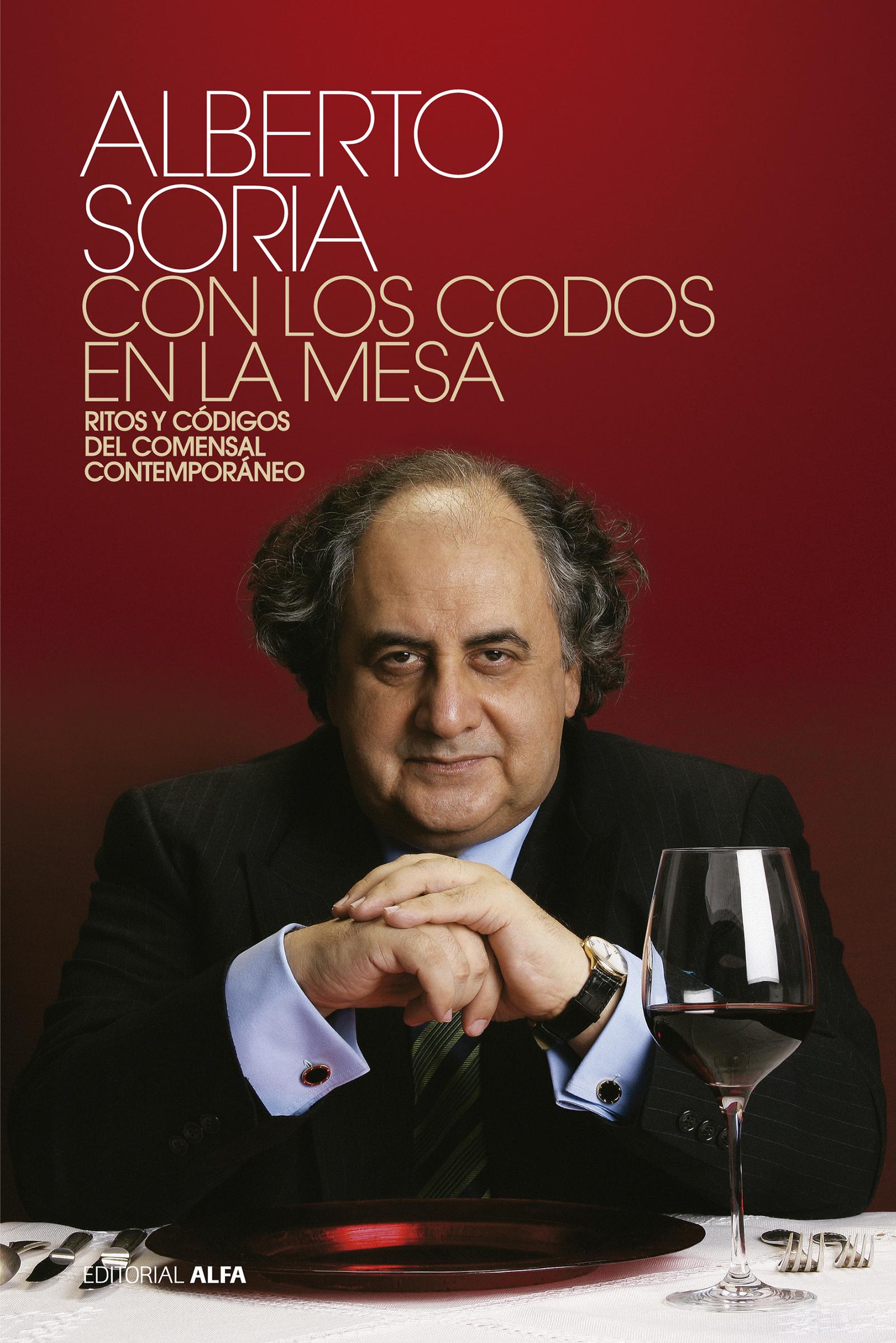 Alberto Soria Con los codos en la mesa