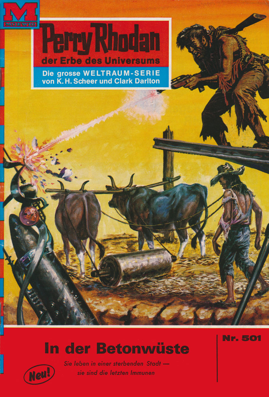 William Voltz Perry Rhodan 501: In der Betonwüste william voltz perry rhodan 816 meister der gravitation