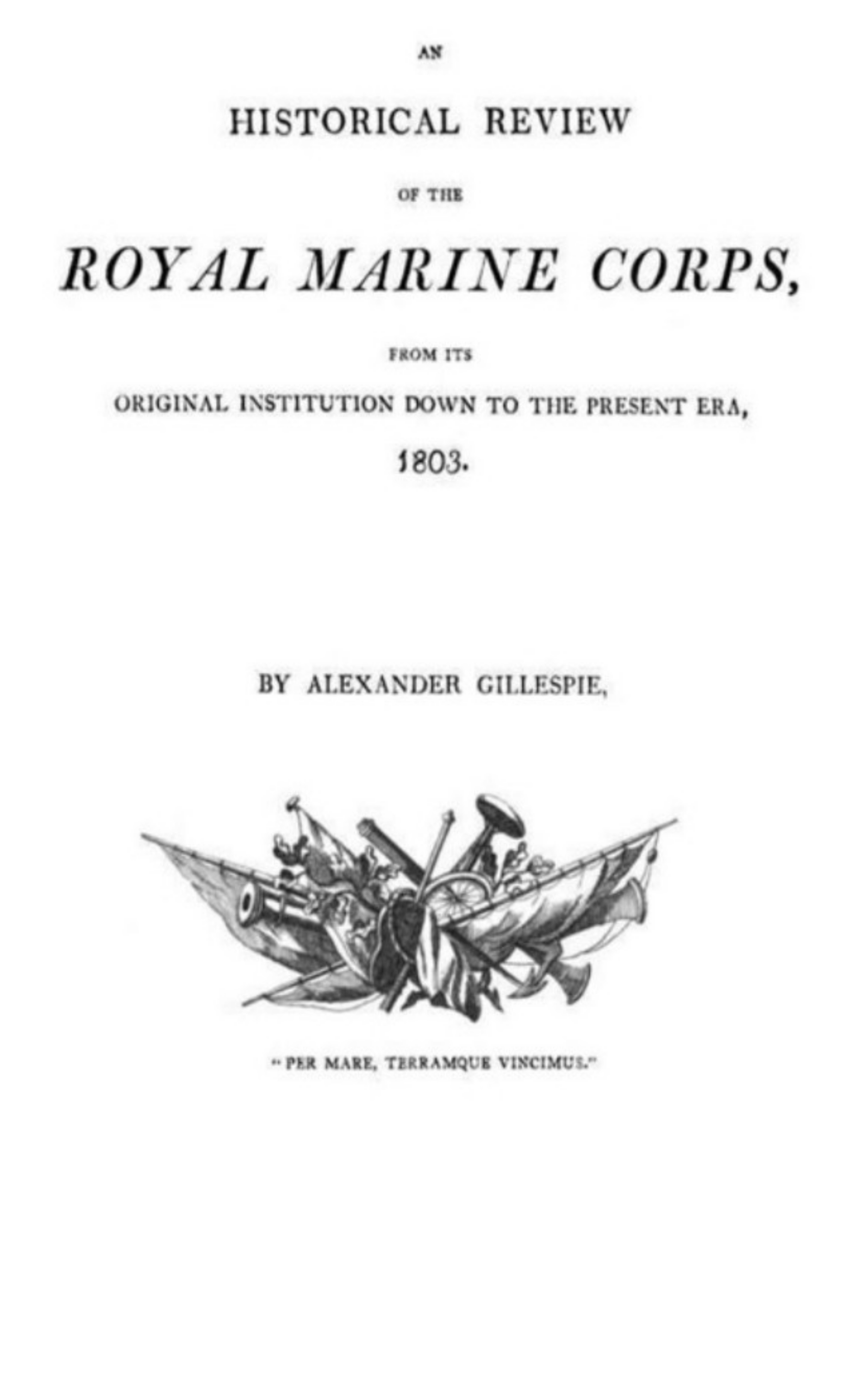 thailand silver the u s marine corps sniper badges ring Alexander Gillespie An historical Review of the Royal Marine Corps, from its Original Institution down to the Present Era, 1803