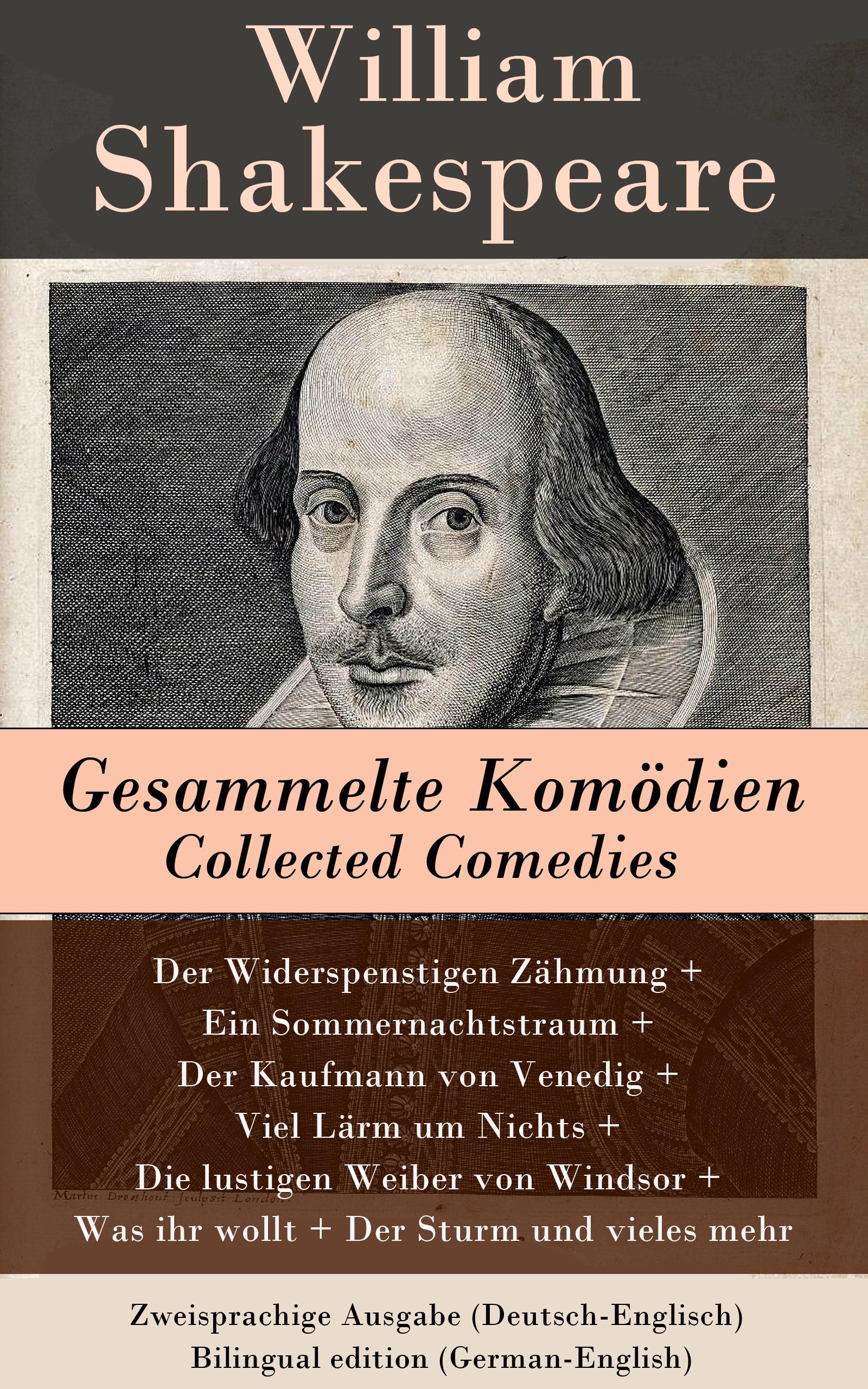 gesammelte komodien collected comedies zweisprachige ausgabe deutsch englisch bilingual edition german english