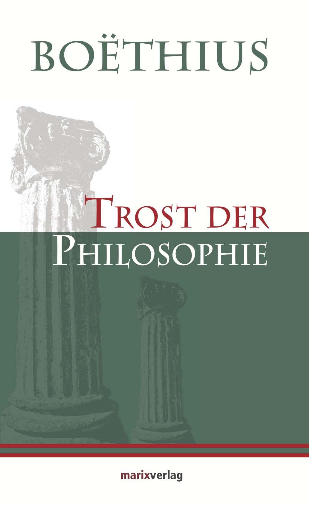 Boethius Trost der Philosophie edit trost adolph menzel