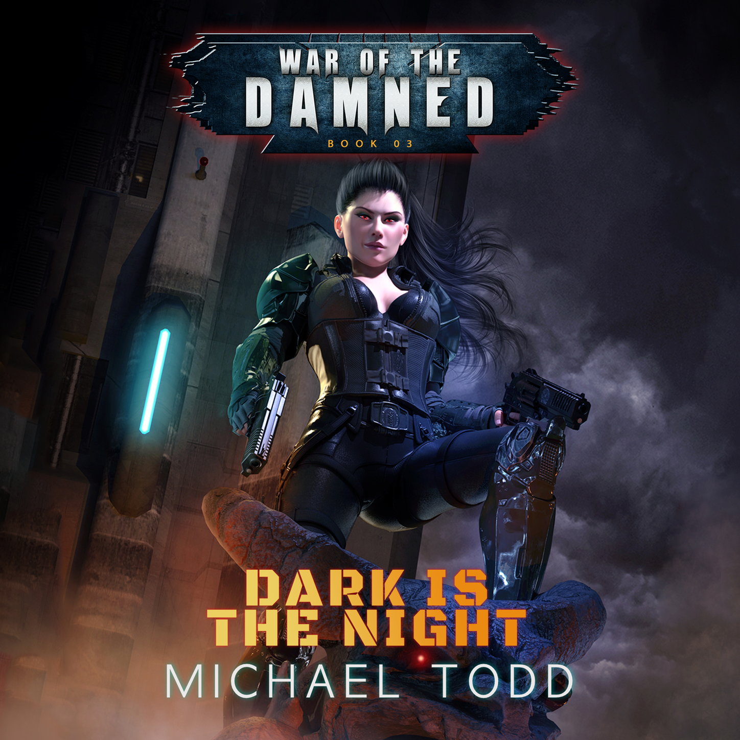 цена на Laurie Starkey S. Dark is the Night - War of the Damned - A Supernatural Action Adventure Opera, Book 3 (Unabridged)