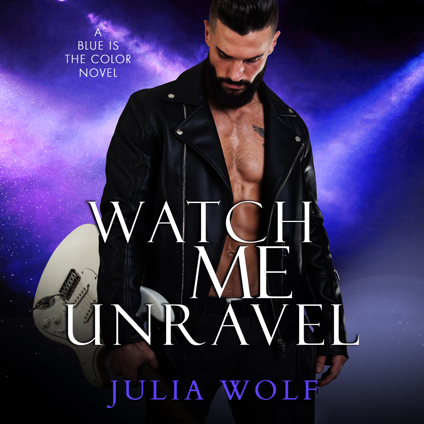 Julia Wolf Watch Me Unravel - A Rock Star Romance - Blue Is the Color, Book 2 (Unabridged) julia wolf times like these a rock star romance blue is the color book 1 unabridged