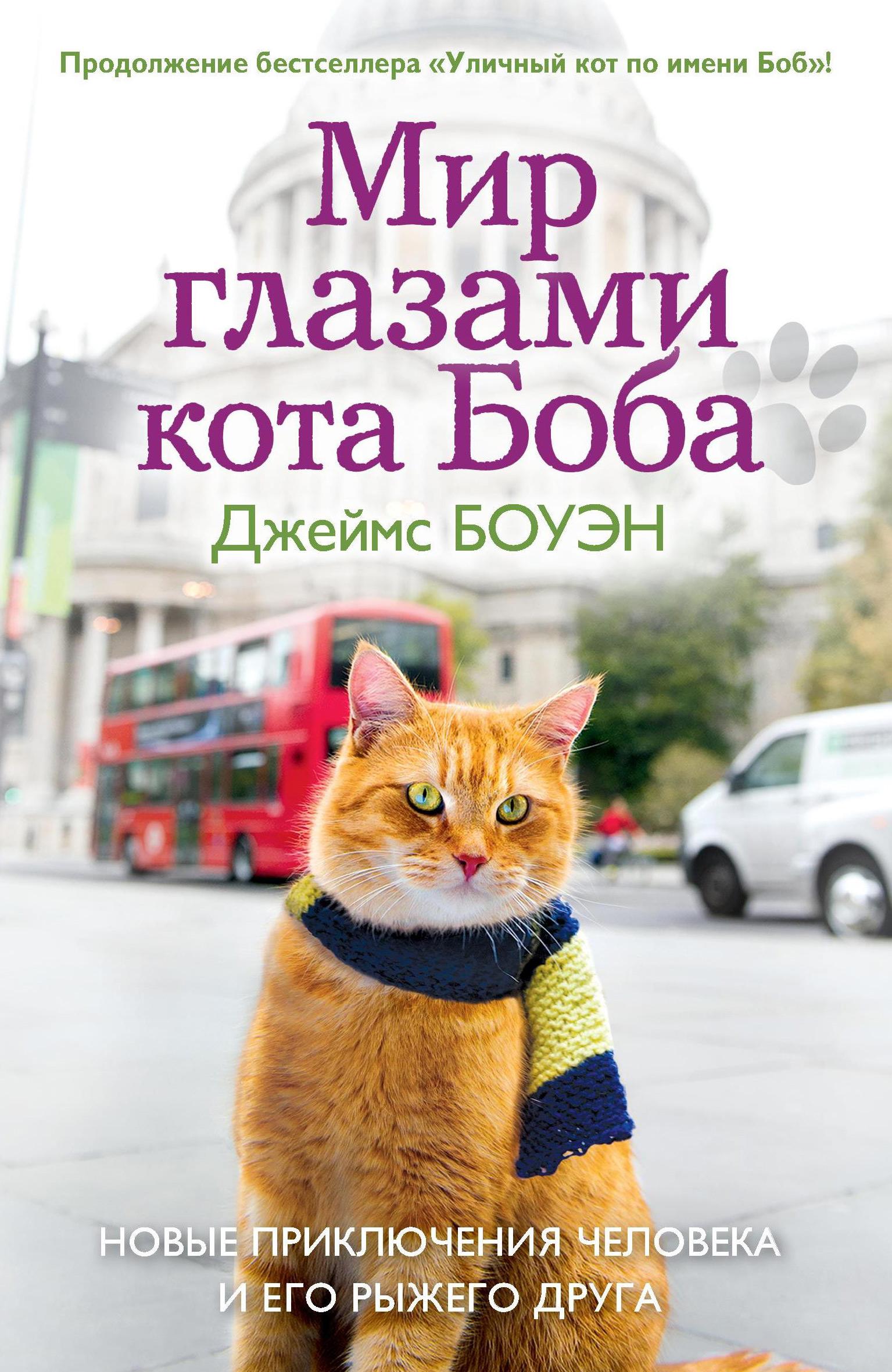 Джеймс Боуэн Мир глазами кота Боба. Новые приключения человека и его рыжего друга россия и мир глазами друг друга из истории взаимовосприятия