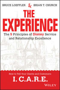 книга The Experience. The 5 Principles of Disney Service and Relationship Excellence