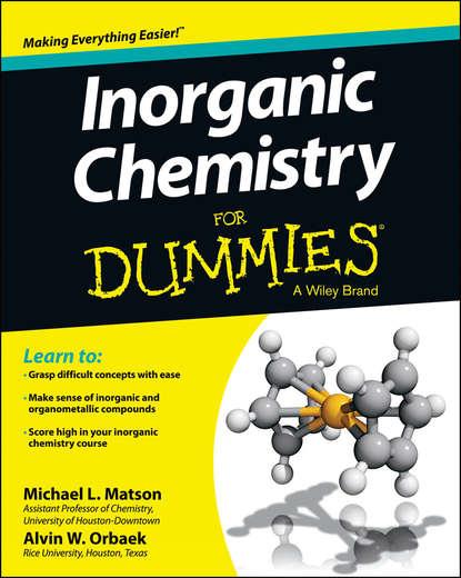 Michael Matson Inorganic Chemistry For Dummies chris hren u can chemistry i for dummies