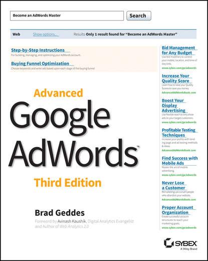 Brad Geddes Advanced Google AdWords brad geddes advanced google adwords