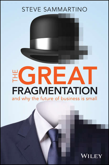 Steve Sammartino The Great Fragmentation. And Why the Future of Business is Small crowdfunding