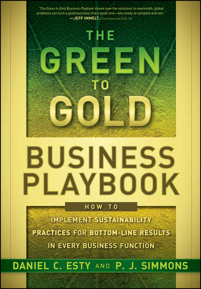 P.J. Simmons The Green to Gold Business Playbook. How to Implement Sustainability Practices for Bottom-Line Results in Every Business Function dan chiras green transportation basics