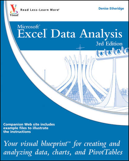 martin abbott lee understanding educational statistics using microsoft excel and spss Denise Etheridge Excel Data Analysis. Your visual blueprint for creating and analyzing data, charts and PivotTables
