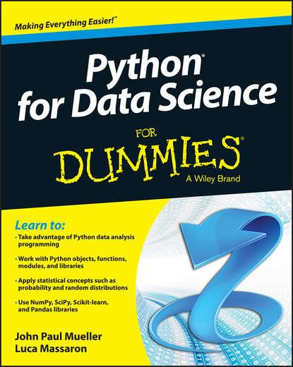 Luca Massaron Python for Data Science For Dummies bendat julius s random data analysis and measurement procedures