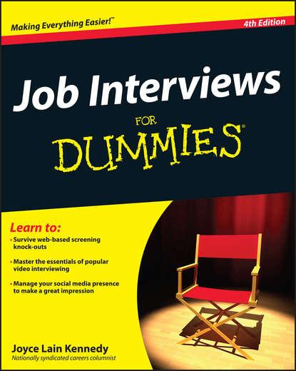 Фото - Joyce Lain Kennedy Job Interviews For Dummies job for a cowboy