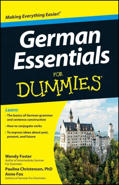 Anne Fox German Essentials For Dummies недорого