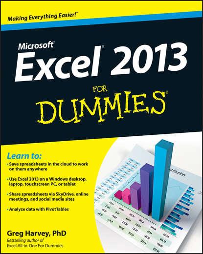 цена на Greg Harvey Excel 2013 For Dummies