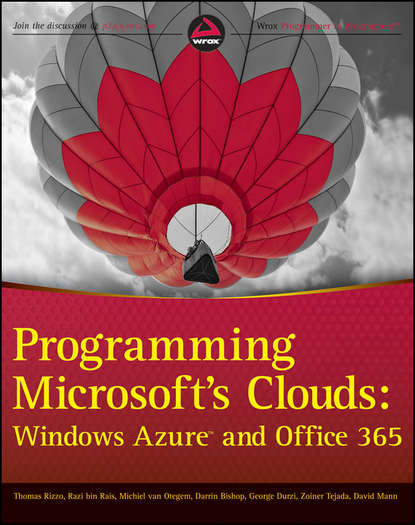 David Mann Programming Microsoft's Clouds. Windows Azure and Office 365 garber windows azure hybrid cloud