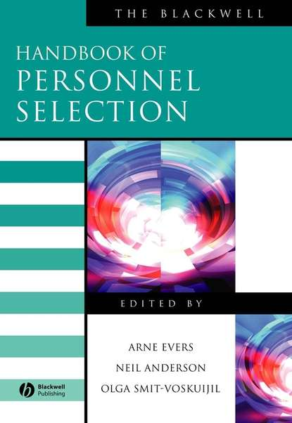 Neil Anderson The Blackwell Handbook of Personnel Selection personnel scheduling of cleaning workforces in hospitals