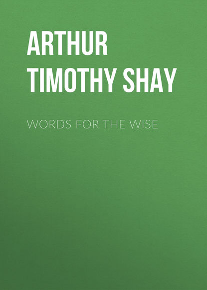 Arthur Timothy Shay Words for the Wise недорого