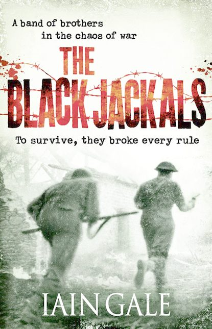 Iain Gale The Black Jackals the unwomanly face of war