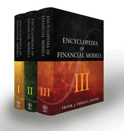 financial modeling Frank J. Fabozzi Encyclopedia of Financial Models