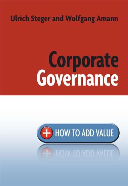 Ulrich Steger Corporate Governance governance issues in strategic alliances