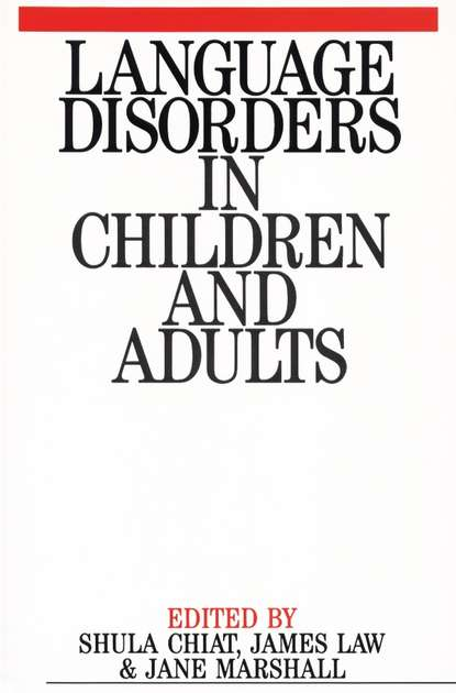 joseph mariani language and speech processing Shula Chiat Language Disorders in Children and Adults