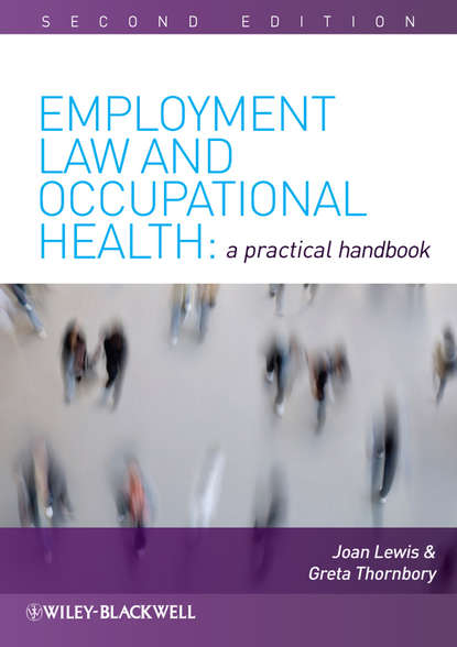 Joan Lewis Employment Law and Occupational Health gerardus blokdyk basic occupational health services a complete guide 2020 edition