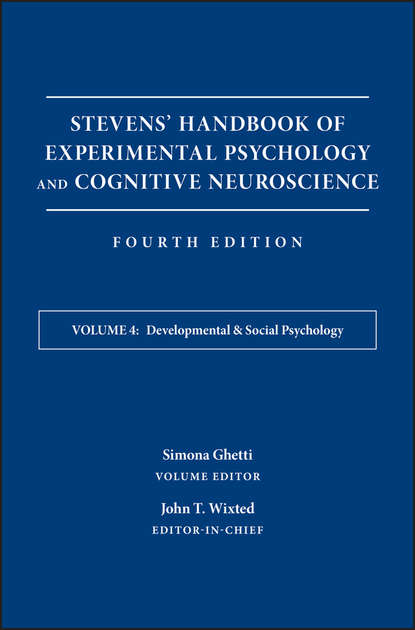 Simona Ghetti Stevens' Handbook of Experimental Psychology and Cognitive Neuroscience, Developmental and Social Psychology mohsen koohi nasr and ma rof redzuan community development approaches social capital