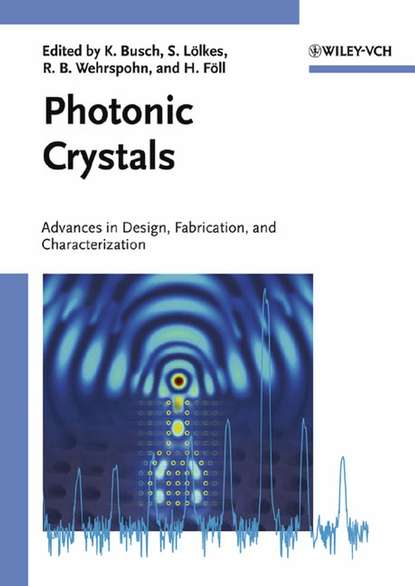 Helmut Foll Photonic Crystals superconductivity in two dimensional crystals