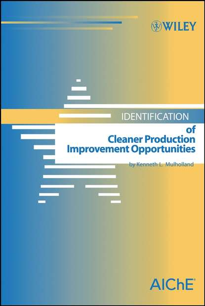 Kenneth Mulholland L. Identification of Cleaner Production Improvement Opportunities claus christ production integrated environmental protection and waste management in the chemical industry