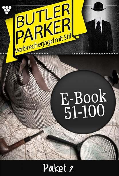 Günter Dönges Butler Parker Paket 2 – Kriminalroman