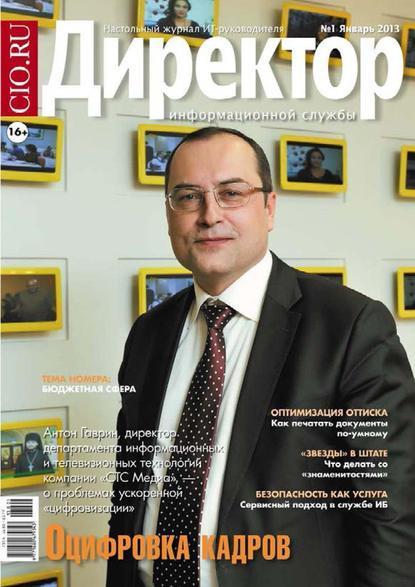 Директор информационной службы №01/2013