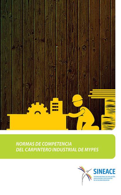 Normas de competencia del carpintero industrial de MYPES фото