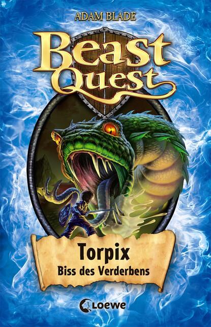 Adam Blade Beast Quest 54 - Torpix, Biss des Verderbens недорого