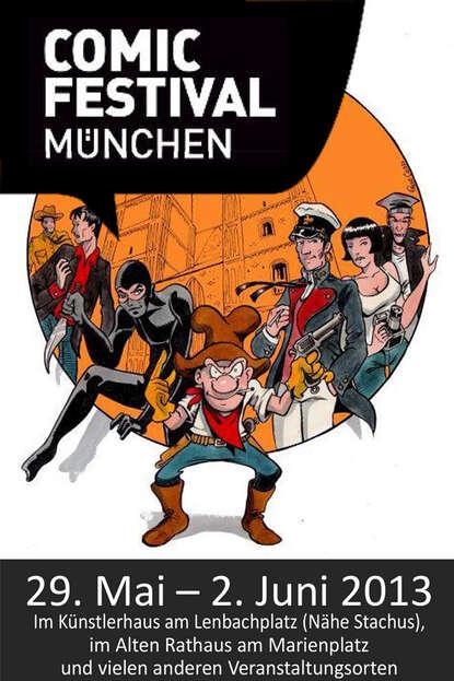 Splashcomics Comicfestival München Programmheft de phazz münchen