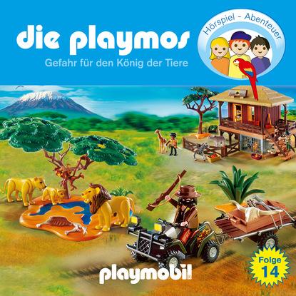 Simon X. Rost Die Playmos - Das Original Playmobil Hörspiel, Folge 14: Gefahr für den König der Tiere недорого