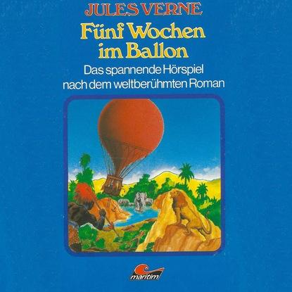 Жюль Верн Jules Verne, Fünf Wochen im Ballon стеллаж etagerca jules verne jv31etgb