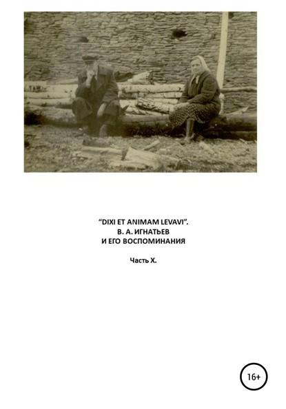 «Dixi et animam levavi». В.А. Игнатьев и его воспоминания. Часть X фото