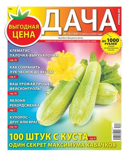 Дача Pressa.ru 16-2020