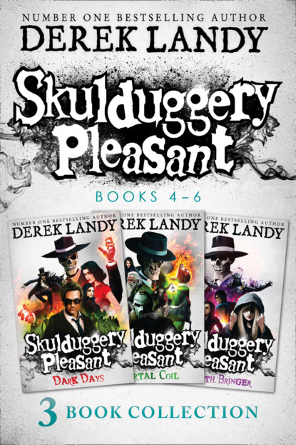 Derek Landy Skulduggery Pleasant: Books 4 – 6 The Death Bringer Trilogy недорого