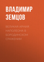 Великая армия Наполеона в Бородинском сражении