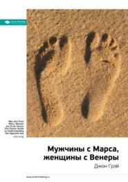 Краткое содержание книги: Мужчины с Марса, женщины с Венеры. Джон Грэй