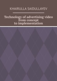 Technology ofadvertising video from concept toimplementation