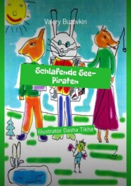 Schlafende See-Piraten. Illustrator Dasha Tikha