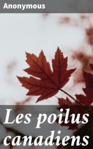 Les poilus canadiens