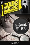 Butler Parker Paket 2 – Kriminalroman
