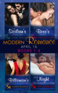 Modern Romance April 2016 Books 1-4