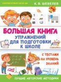 Большая книга упражнений для подготовки к школе. С тестами на уровень знаний
