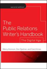 The Public Relations Writer\'s Handbook