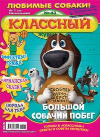 Классный журнал №43\/2016